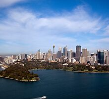 Sydney from the Air by Malcolm Katon