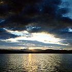 Windermere Sunday sunset by digitalnative