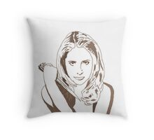 Into each generation, a Slayer is born Throw Pillow