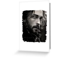 Ichabod Crane (Tom Mison) Greeting Card