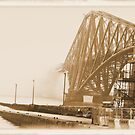 The Forth Bridge 19th Century Style by Ian Coyle