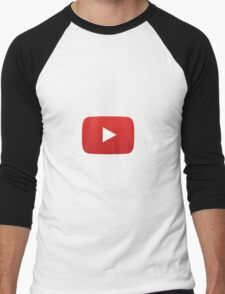 Youtube Merchandise Men's Baseball ¾ T-Shirt