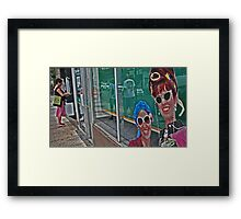 Welcome to Baltimore! Framed Print