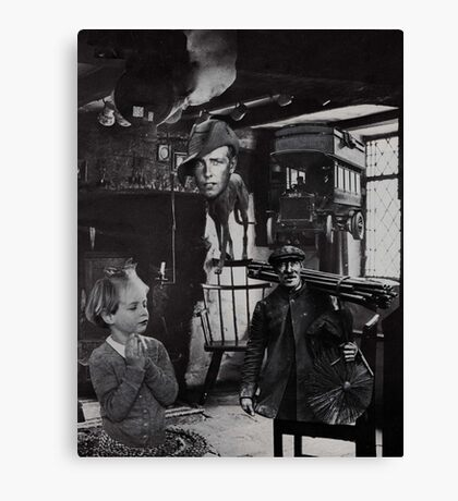 Chimney Sweep. Canvas Print