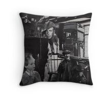 Chimney Sweep. Throw Pillow