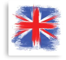 England Flag Great Britain Flag united kingdom Canvas Print