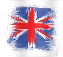 England Flag Great Britain Flag united kingdom Poster