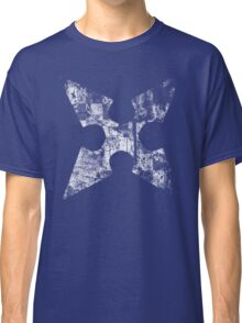 Kingdom Hearts Roxas' Cross grunge Classic T-Shirt
