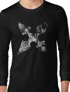 Kingdom Hearts Roxas' Cross grunge Long Sleeve T-Shirt