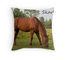 Skarlett - NNEP Ottawa, ON Throw Pillow