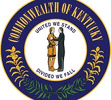 Kentucky State Seal Sticker by ukedward