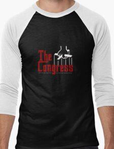 THE GONGRESS Men's Baseball ¾ T-Shirt