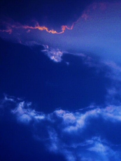 cloudscape ~ a blink of pink  by marysia wojtaszek