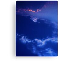 cloudscape ~ a blink of pink  Canvas Print