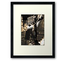 Inside the Cathedral of St Catherine of Alexandria Framed Print