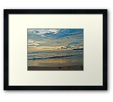 Sunset at Miramar beach, Goa Framed Print