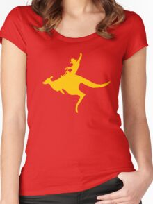 Real Cowboys Roodeo! Women's Fitted Scoop T-Shirt