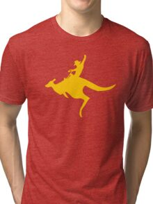 Real Cowboys Roodeo! Tri-blend T-Shirt
