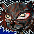 Mean Eyed Cat. by luckylarue