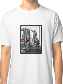 Government listening post by Banksy! Classic T-Shirt