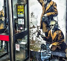 Government listening post by Banksy! by TimConstable