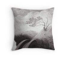 The Lost Road Throw Pillow