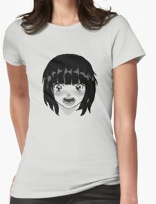 Anime girl Womens Fitted T-Shirt