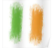 Ireland Flag Dublin Flag Poster