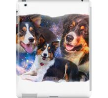 Space Border Collies rule the Universe iPad Case/Skin