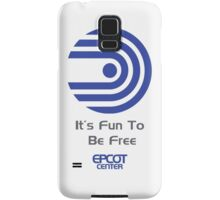 """World of Motion """"It's Fun To Be Free"""" Samsung Galaxy Case/Skin"""