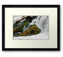 Hogs Back Waterfalls Framed Print