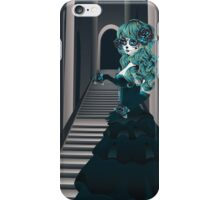 Day of the Dead Girl in Crypt iPhone Case/Skin