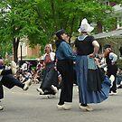 Klompen Dutch Dancing by Usha Ganesh