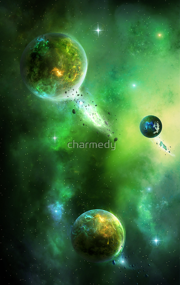 Greenday Space by charmedy