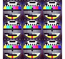 TV Casualty Photographic Print