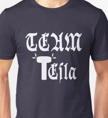 Team Tesla-Inverted Unisex T-Shirt