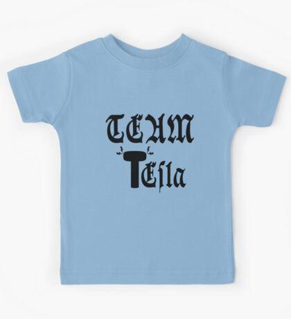 Team Tesla Kids Tee