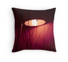 lamp light Throw Pillow