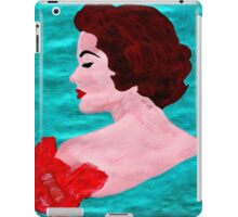 woman portrait iPad Case/Skin
