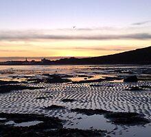 Sunset over Bridlington by Merice  Ewart-Marshall - LFA