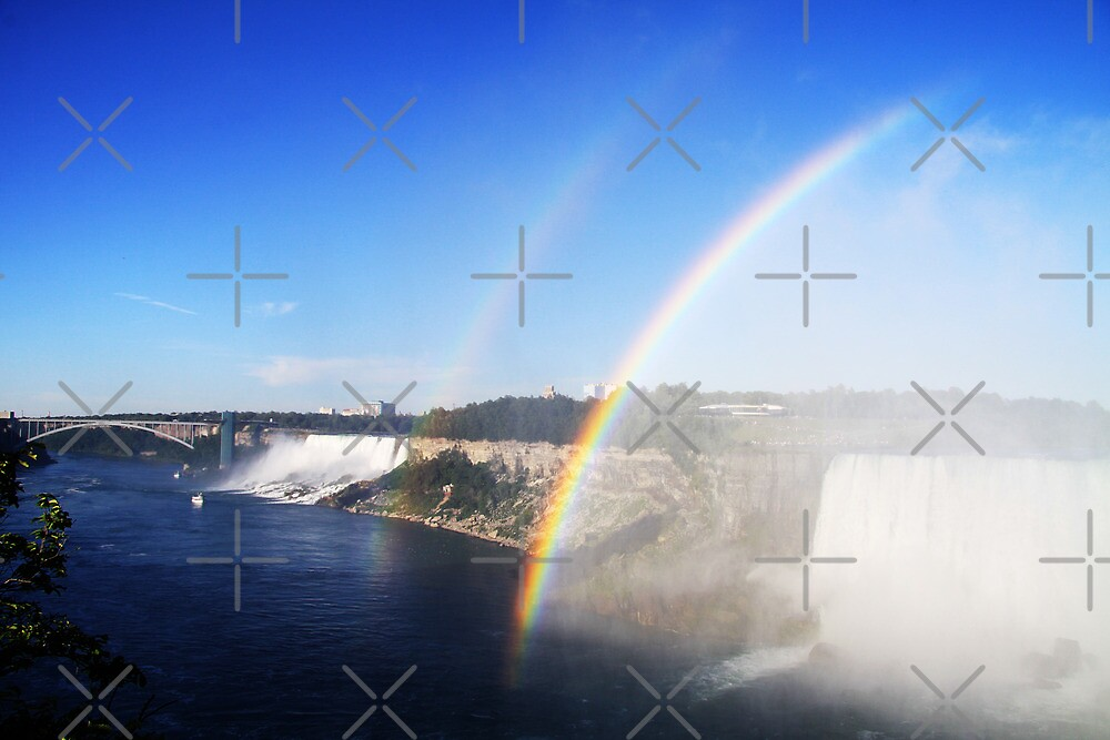Double Niagara Rainbow by Alyce Taylor