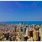 Chicago Willis Tower View by Brian HMUROVICH