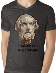 Homer is my Homie Mens V-Neck T-Shirt