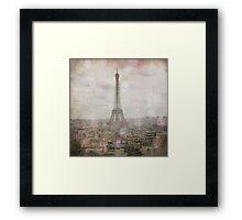 Dreaming of Paris Framed Print