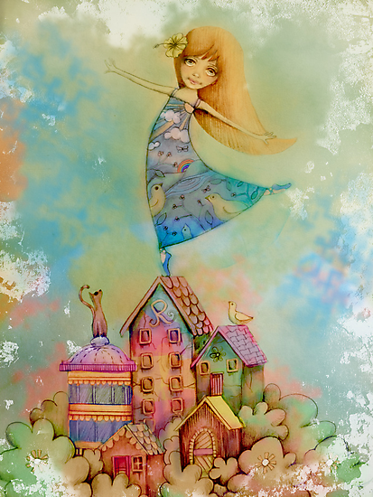 dancing on rooftops by © Cassidy (Karin) Taylor
