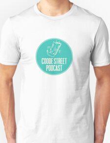 Coode Street Podcast (teal) T-Shirt