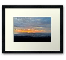 A promise of tommorrow - livin' in the light. Framed Print