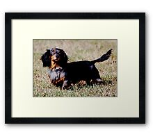 Say Hello to Odie Framed Print
