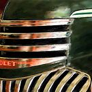 See The USA In A Chevrolet - Painterly by Lois  Bryan