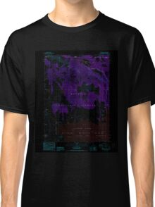 USGS Topo Map California Carr Butte 288984 1988 24000 Inverted Classic T-Shirt